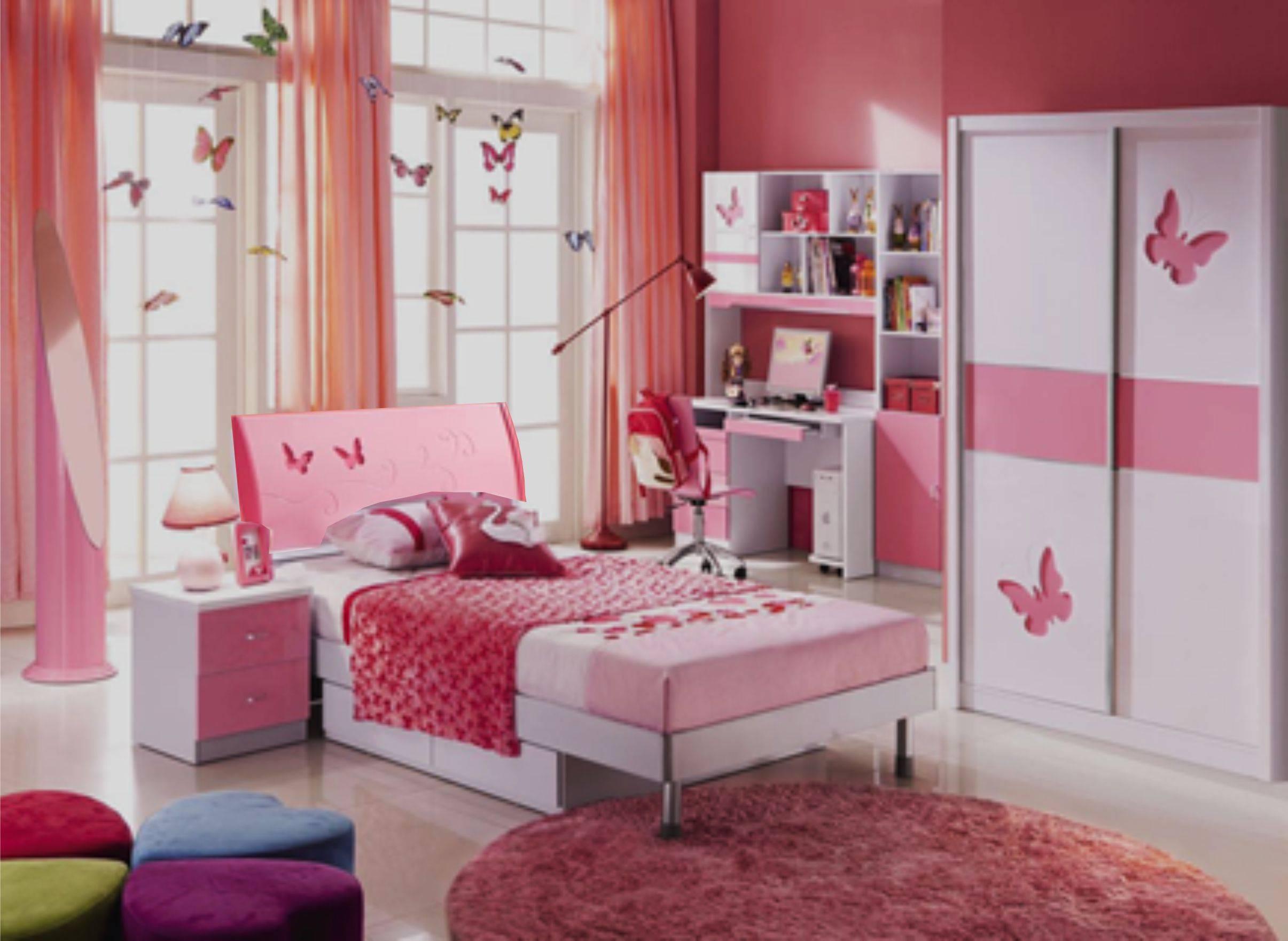 Детская спальня Пиккола (розово-белый) - купить в интернет-магазине Maxmebeli: цены, фото