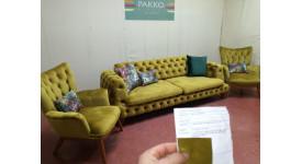 Мягкая мебель Pakko Chester (Желтый)