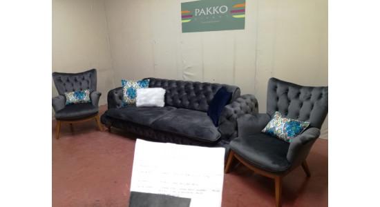 Мягкая мебель Pakko Chester (Серый)