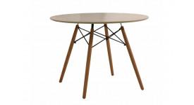 Стол обеденный дизайнерский DARS (таупе)