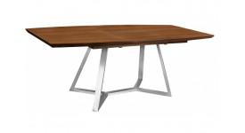 Стол обеденный (трансформер) SOHO (160-210) (орех)