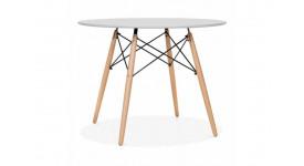 Стол обеденный дизайнерский DARS (серый)