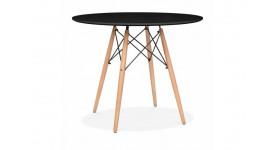 Стол обеденный дизайнерский FANCY (черный)