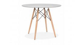 Стол обеденный дизайнерский FANCY (серый)