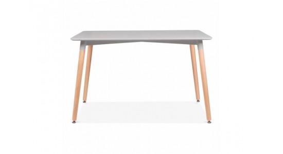 Стол обеденный дизайнерский LINK (серый)