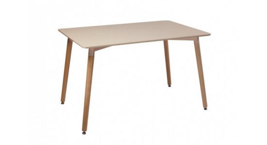 Стол обеденный дизайнерский LINK (таупе)