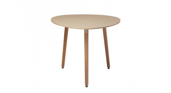 Стол обеденный дизайнерский SIRIO (таупе)
