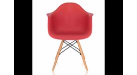 Стул дизайнерский HUGO (красный)