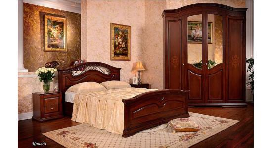 Спальня Канада (ореховая)