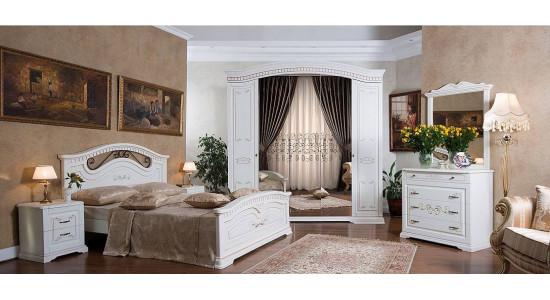 Классическая спальня Лада (бежевая)