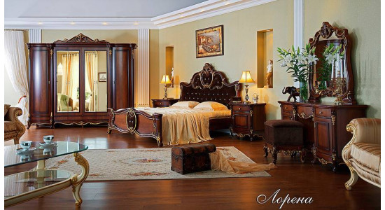 Спальня Лорена (орех)