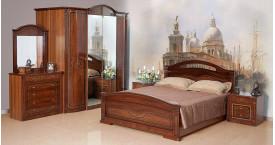 Элитные спальни с обивкой из ткани