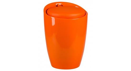 Табурет LM-1100 HPVC с местом для хранениям оранжевый