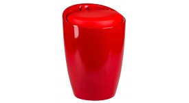 Табурет LM-1100 HPVC с местом для хранениям красного цвета