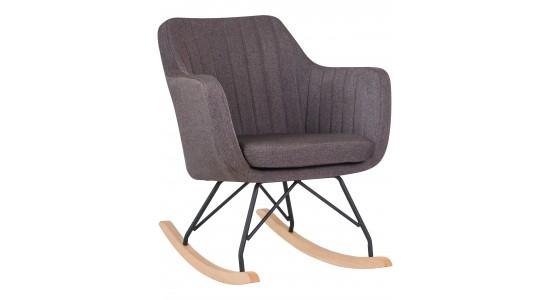 Кресло-качалка KIARA LM-3257R серого цвета