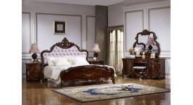 Спальня Магдалена (цвет: орех+золото)