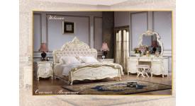 Спальня Магдалена (цвет: белый+золото)