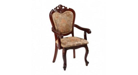 20913 A. Кресло, с мягкой спинкой и сидением, обивка - ткань БОРДО цвет: HN Glaze
