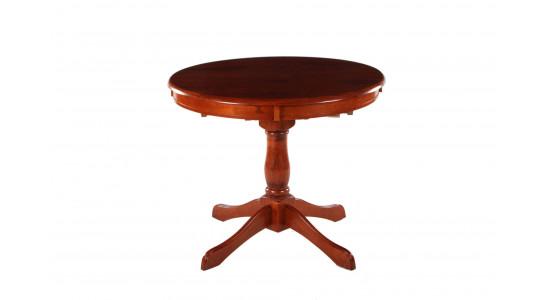Стол DM-T4EX Real цвет: MAF Brown - круглый раскладной