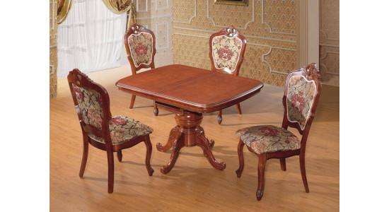 Стол D2013 цвет: HN Glaze - прямоугольный раскладной