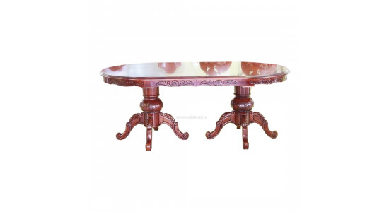 Стол D2079, цвет: HN Glaze;  - овальный раскладной