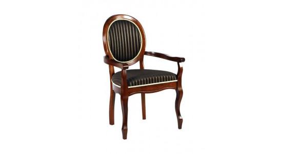 Кресло FN-AC Fiona цвет: Espresso, ткань ТХ-10В