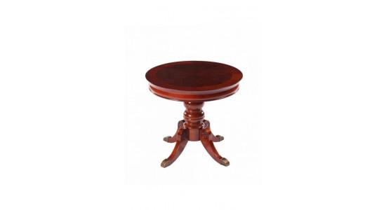 Журнальный столик 593-04 цвет: Martini Cherry - круглый