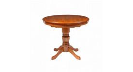 Стол DM-T4EX2 QUEEN цвет: Espresso - круглый раскладной