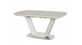 Стол обеденный (трансформер) OASIS (сатин латте)