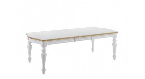 Стол обеденный (трансформер) OPERA (жемчужно-белый)