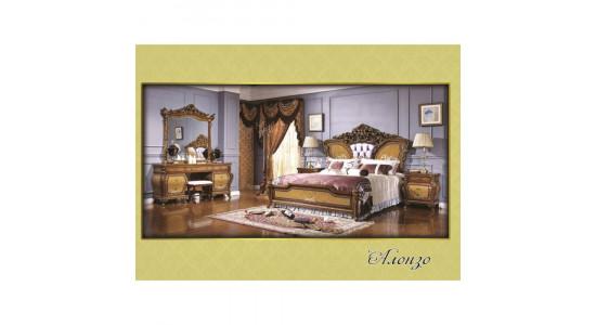 Спальня Алонзо (светлый орех)