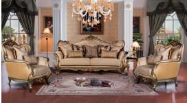 Комплект: диван и два кресла Луна Арт.F1609