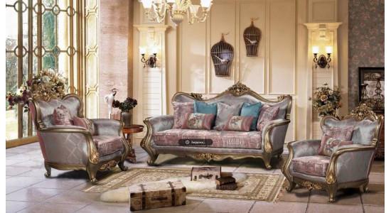 Мягкая мебель Луна-серебро Арт.F1609A