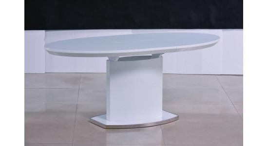 Стол обеденный (трансформер) ISLAND (белый)