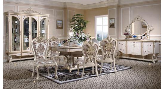 Столовый комплект в стиле барокко Наполеон 3888W