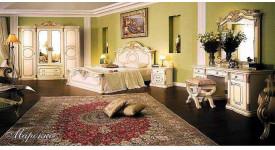Спальня в стиле классика Марокко (бежевая)