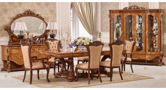 Столовый комплект в стиле барокко Наполеон 3888D