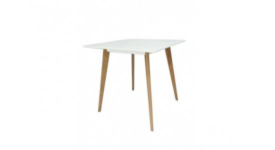 Стол обеденный дизайнерский CUBIC (белый)