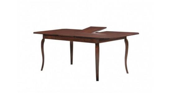 Стол обеденный деревянный (трансформер) VANESSA (капучино)