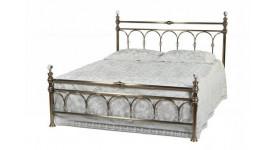 Кровать 9801 L (Античная медь- с кристаллами) 2