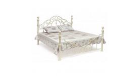 Кровать 9603 Каролина (Античный белый)