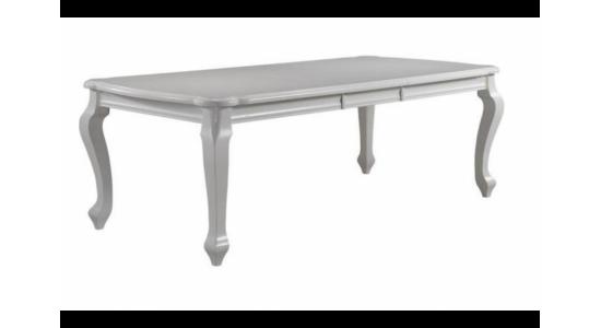 Стол обеденный деревянный (трансформер) BOSTON (белый)