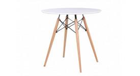 Стол обеденный дизайнерский DARS (белый)