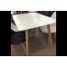 Стол обеденный дизайнерский PLANO (белый)