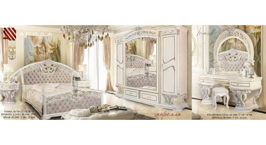 Спальный гарнитур Марелла (Белый)