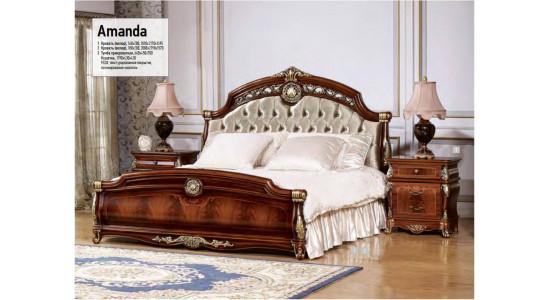 Спальный гарнитур Аманда (орех)