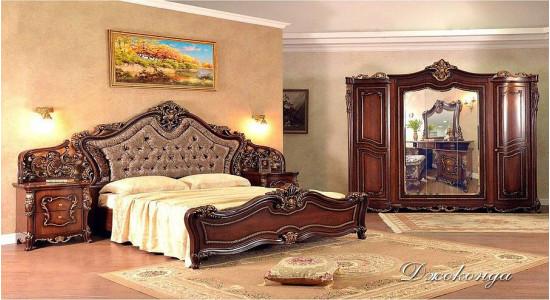 Спальня Джоконда (Орех)