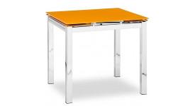 Стол обеденный (трансформер) MIX-1 (оранжевый)