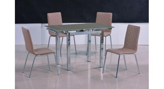 Стол обеденный (трансформер) MIX-1 (шампань)