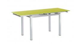 Стол обеденный (трансформер) MIX-2 (лайм)